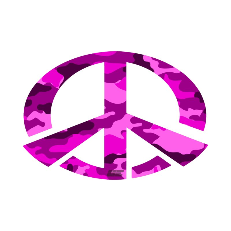 Peace - Pink Camo Edition Accessories Notebook by uniquego's Artist Shop