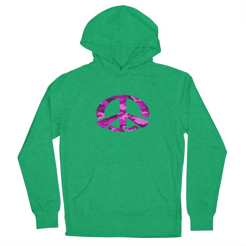 Peace - Pink Camo Edition Men's Pullover Hoody by uniquego's Artist Shop