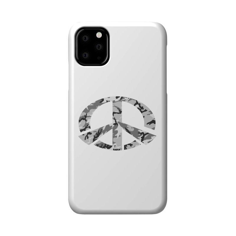 Peace - Snow Camo Edition Accessories Phone Case by uniquego's Artist Shop