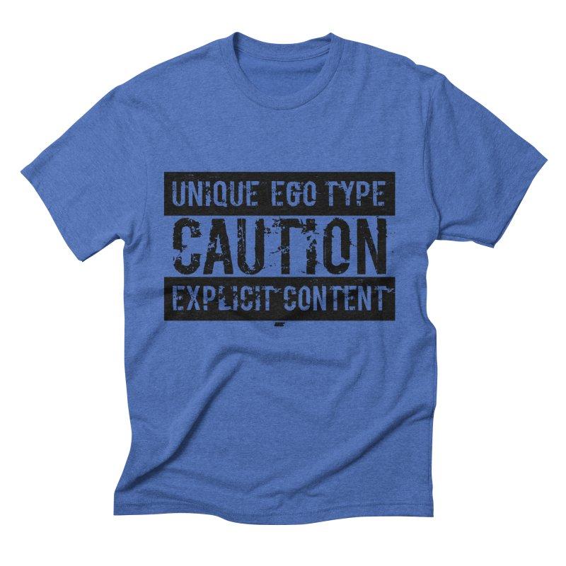 Unique Ego Type - Explicit Content Edition Men's T-Shirt by uniquego's Artist Shop