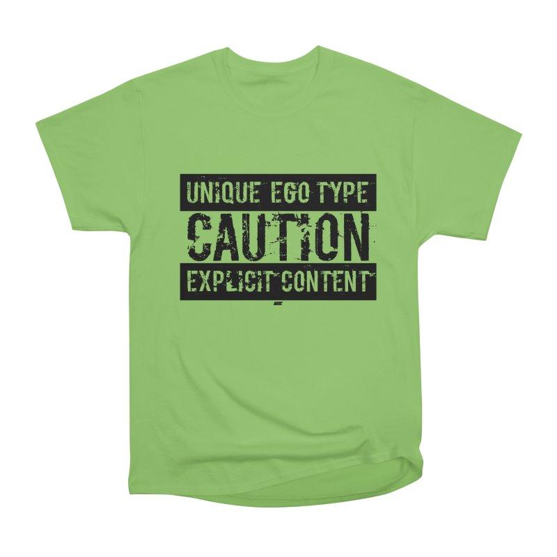 Unique Ego Type - Explicit Content Edition Men's Heavyweight T-Shirt by uniquego's Artist Shop
