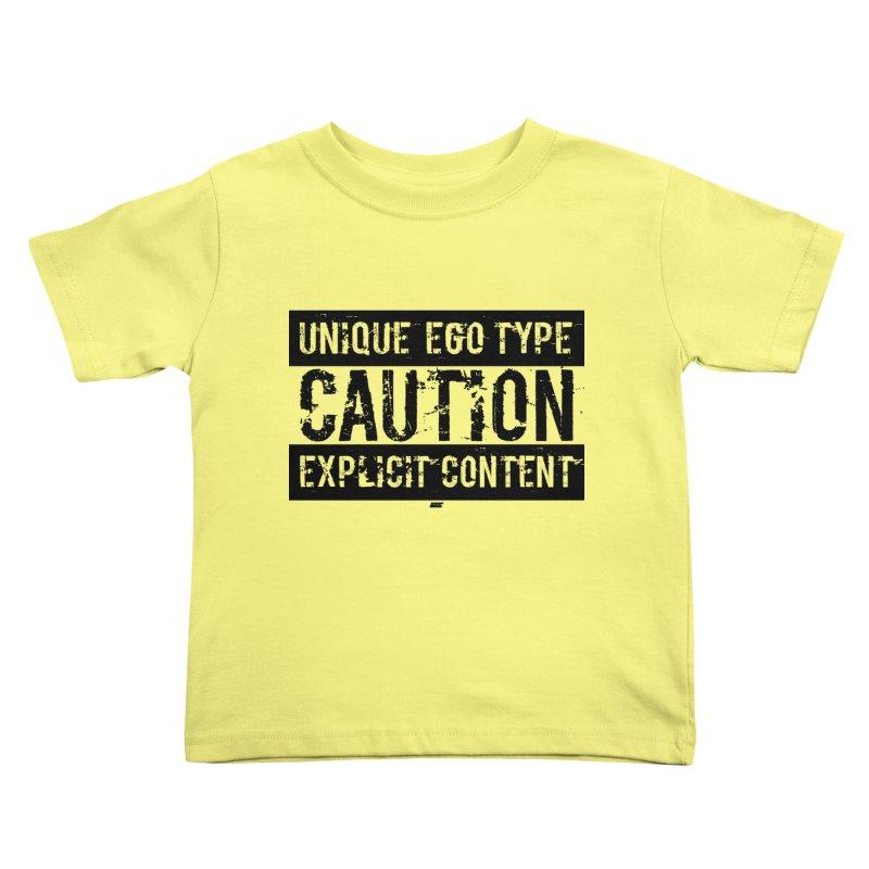 Unique Ego Type - Explicit Content Edition Kids Toddler T-Shirt by uniquego's Artist Shop