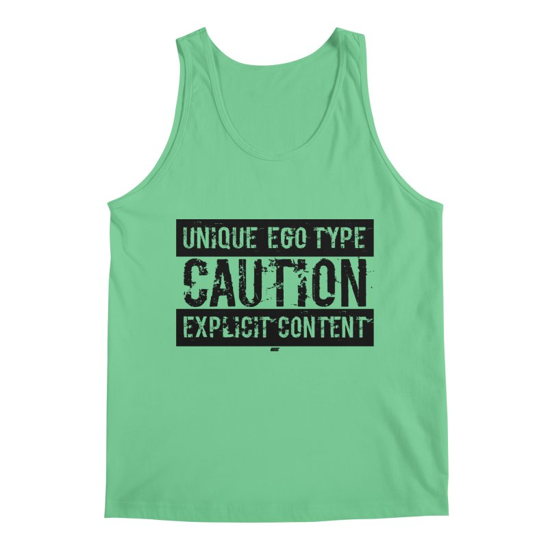 Unique Ego Type - Explicit Content Edition Men's Regular Tank by uniquego's Artist Shop