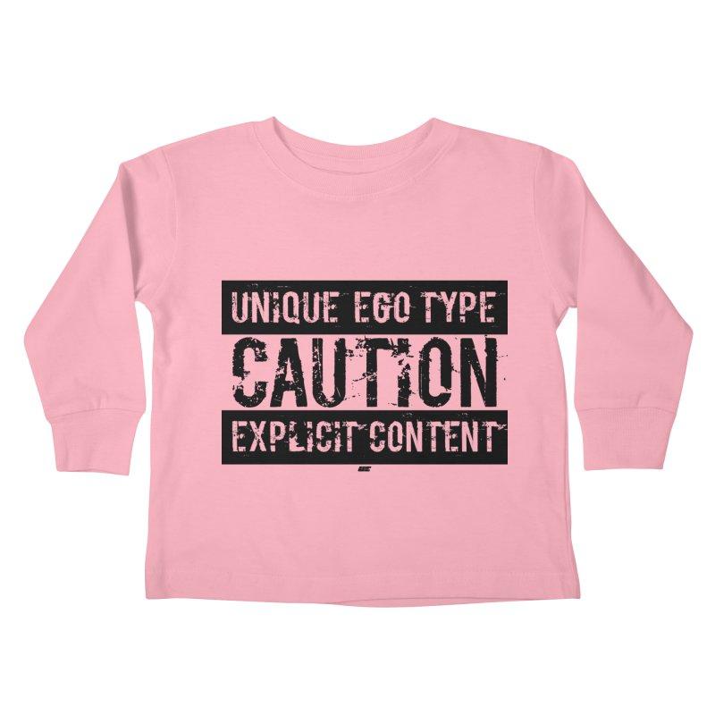 Unique Ego Type - Explicit Content Edition Kids Toddler Longsleeve T-Shirt by uniquego's Artist Shop