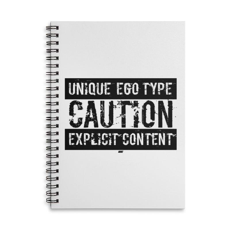 Unique Ego Type - Explicit Content Edition Accessories Notebook by uniquego's Artist Shop