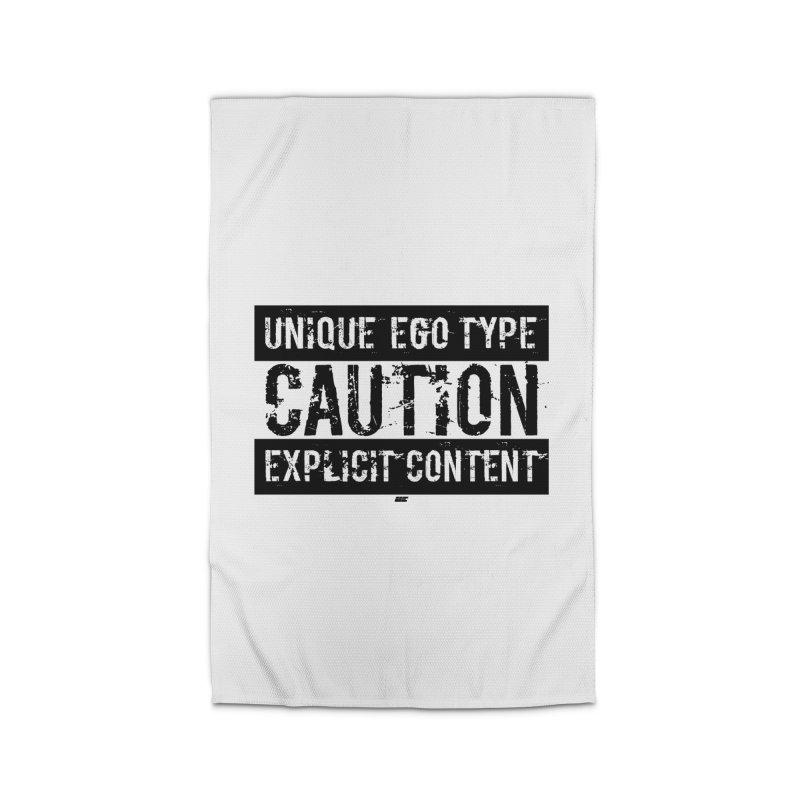 Unique Ego Type - Explicit Content Edition Home Rug by uniquego's Artist Shop