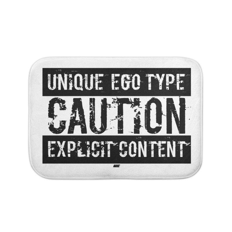 Unique Ego Type - Explicit Content Edition Home Bath Mat by uniquego's Artist Shop