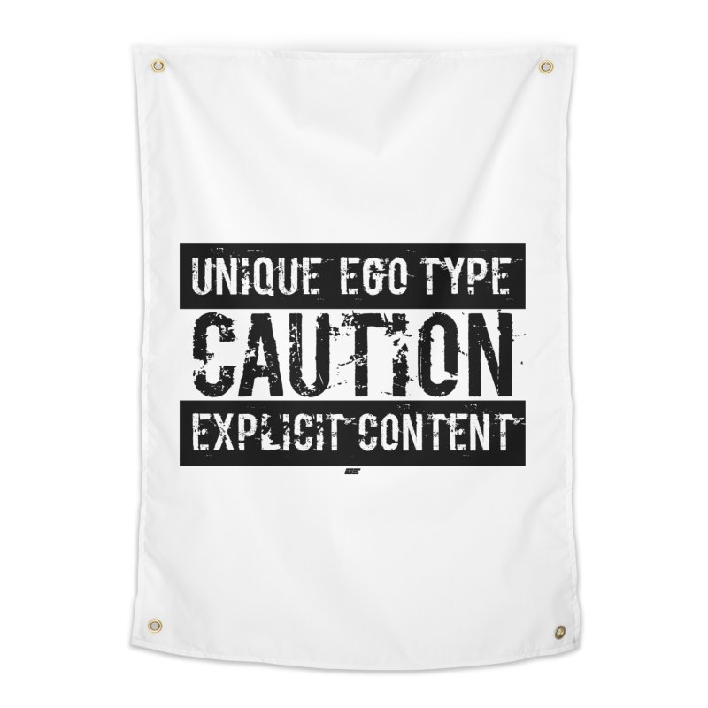 Unique Ego Type - Explicit Content Edition Home Tapestry by uniquego's Artist Shop