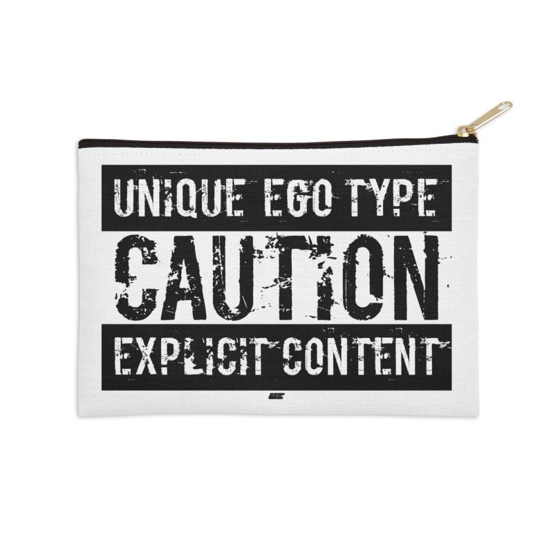 Unique Ego Type - Explicit Content Edition Accessories Zip Pouch by uniquego's Artist Shop
