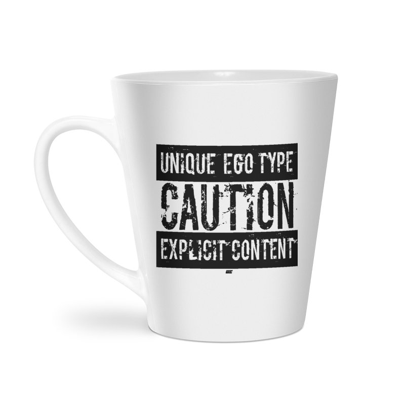 Unique Ego Type - Explicit Content Edition Accessories Latte Mug by uniquego's Artist Shop