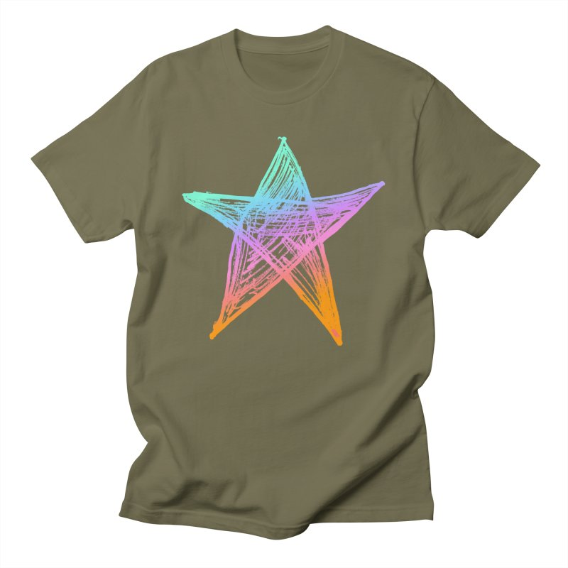Like A Star Men's T-Shirt by uniquego's Artist Shop