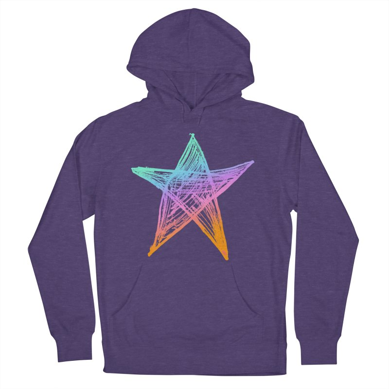 Like A Star Women's French Terry Pullover Hoody by uniquego's Artist Shop