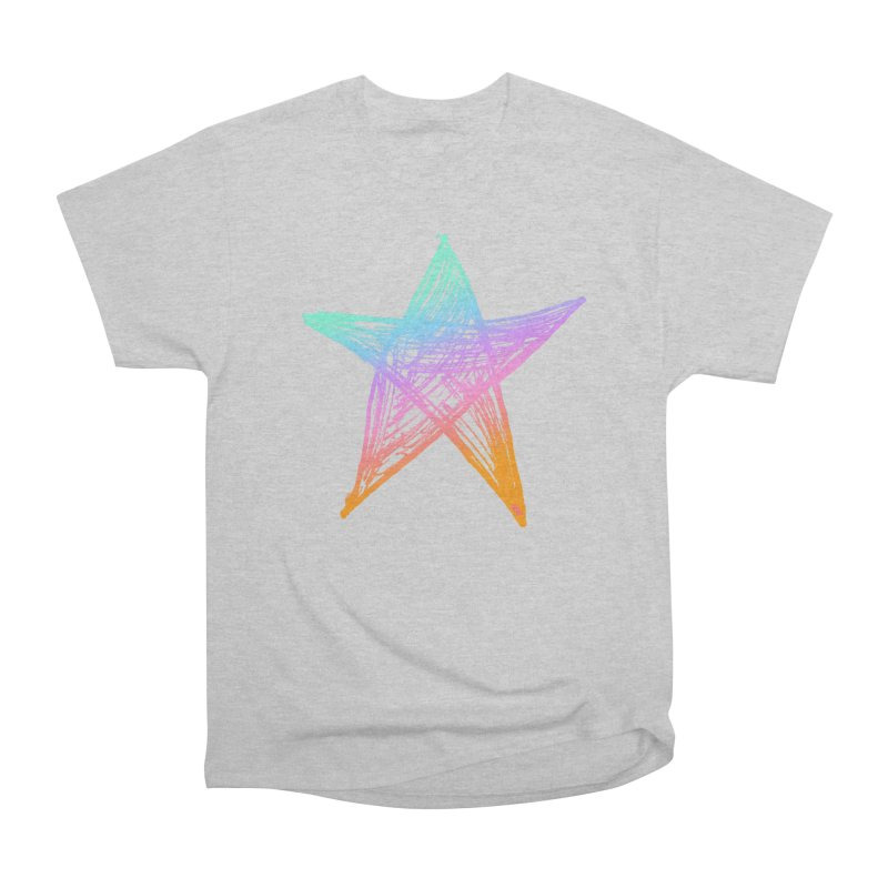 Like A Star Men's Heavyweight T-Shirt by uniquego's Artist Shop