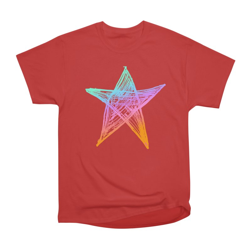 Like A Star Women's Heavyweight Unisex T-Shirt by uniquego's Artist Shop