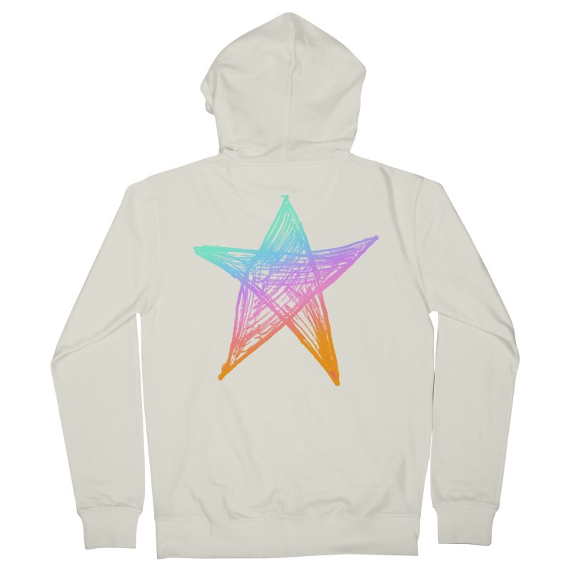 Like A Star Women's French Terry Zip-Up Hoody by uniquego's Artist Shop