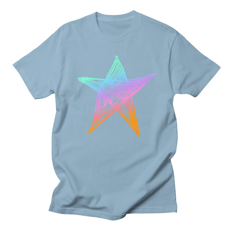 Like A Star Women's Regular Unisex T-Shirt by uniquego's Artist Shop