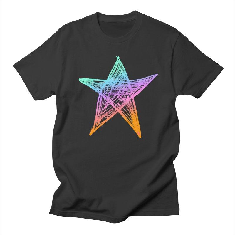 Like A Star Men's Regular T-Shirt by uniquego's Artist Shop
