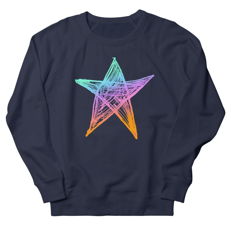 Like A Star Women's Sweatshirt by uniquego's Artist Shop