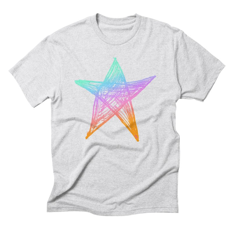 Like A Star Men's Triblend T-Shirt by uniquego's Artist Shop