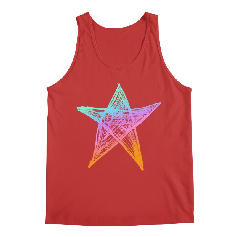 Like A Star Men's Tank by uniquego's Artist Shop