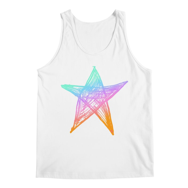Like A Star Men's Regular Tank by uniquego's Artist Shop