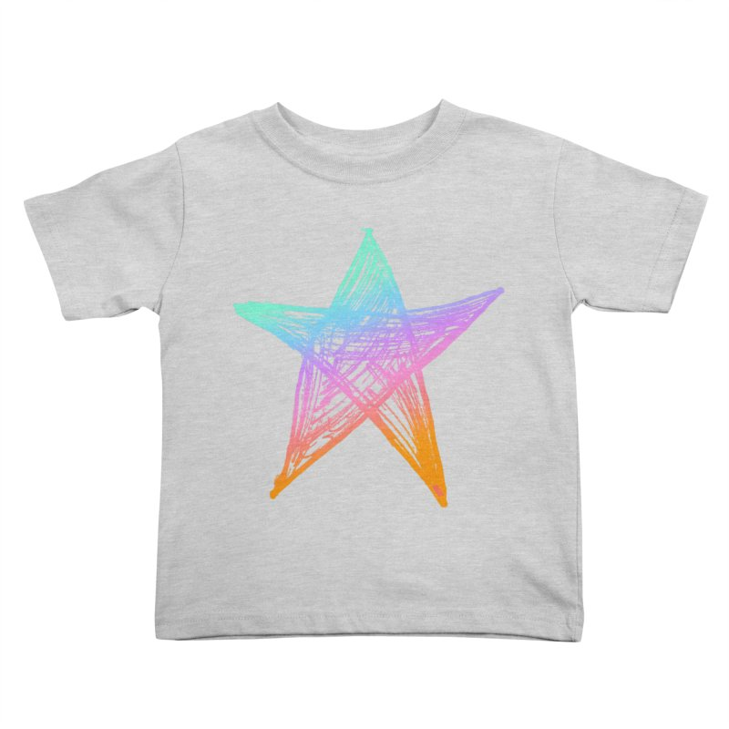 Like A Star Kids Toddler T-Shirt by uniquego's Artist Shop