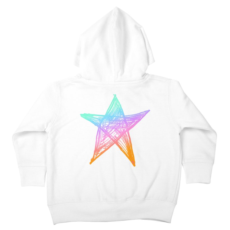 Like A Star Kids Toddler Zip-Up Hoody by uniquego's Artist Shop