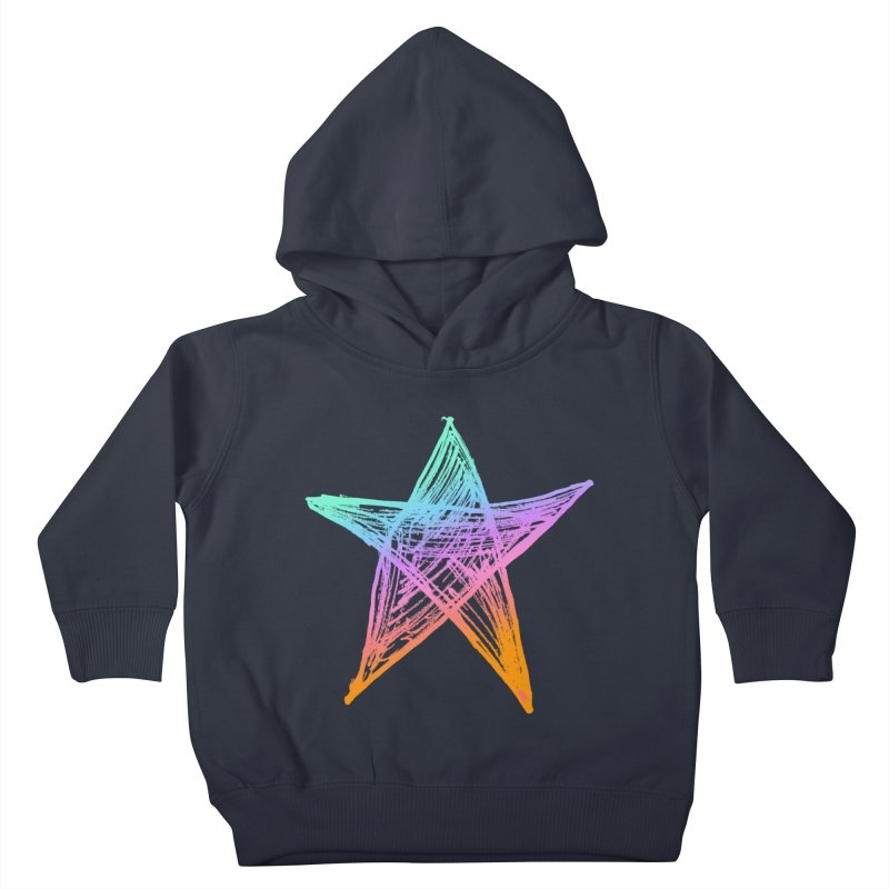 Like A Star Kids Toddler Pullover Hoody by uniquego's Artist Shop