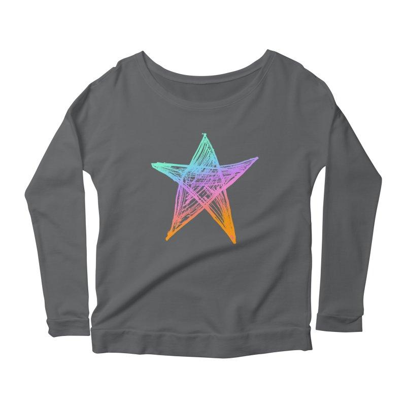 Like A Star Women's Longsleeve T-Shirt by uniquego's Artist Shop