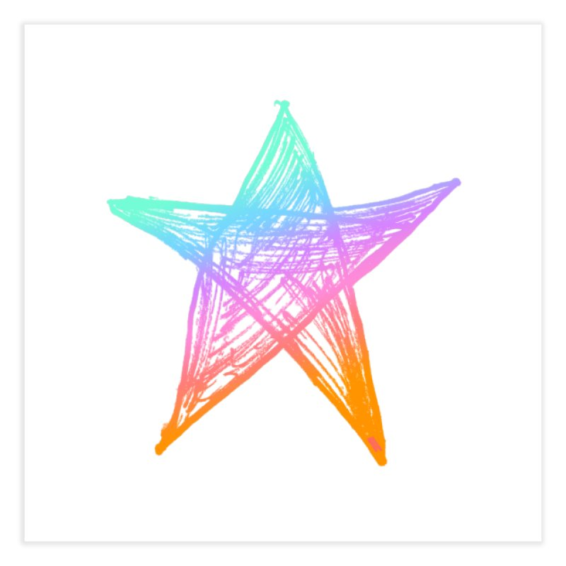 Like A Star Home Fine Art Print by uniquego's Artist Shop