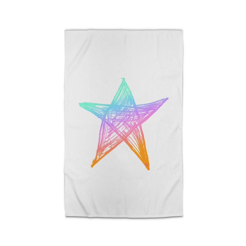 Like A Star Home Rug by uniquego's Artist Shop