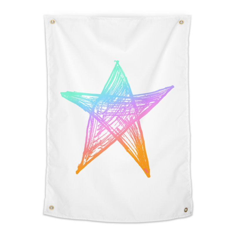 Like A Star Home Tapestry by uniquego's Artist Shop