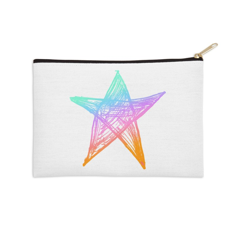 Like A Star Accessories Zip Pouch by uniquego's Artist Shop