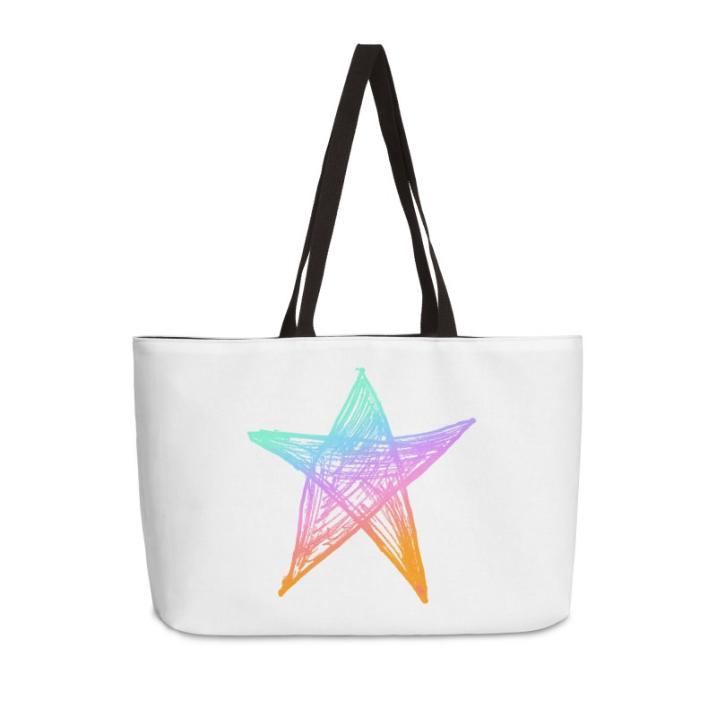 Like A Star Accessories Weekender Bag Bag by uniquego's Artist Shop