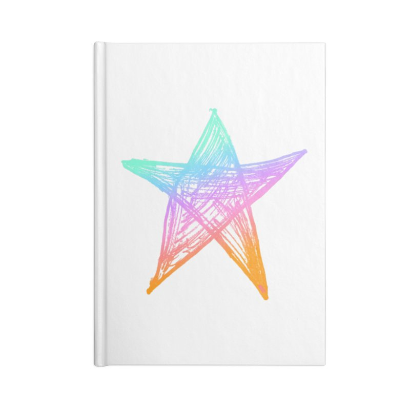 Like A Star Accessories Lined Journal Notebook by uniquego's Artist Shop