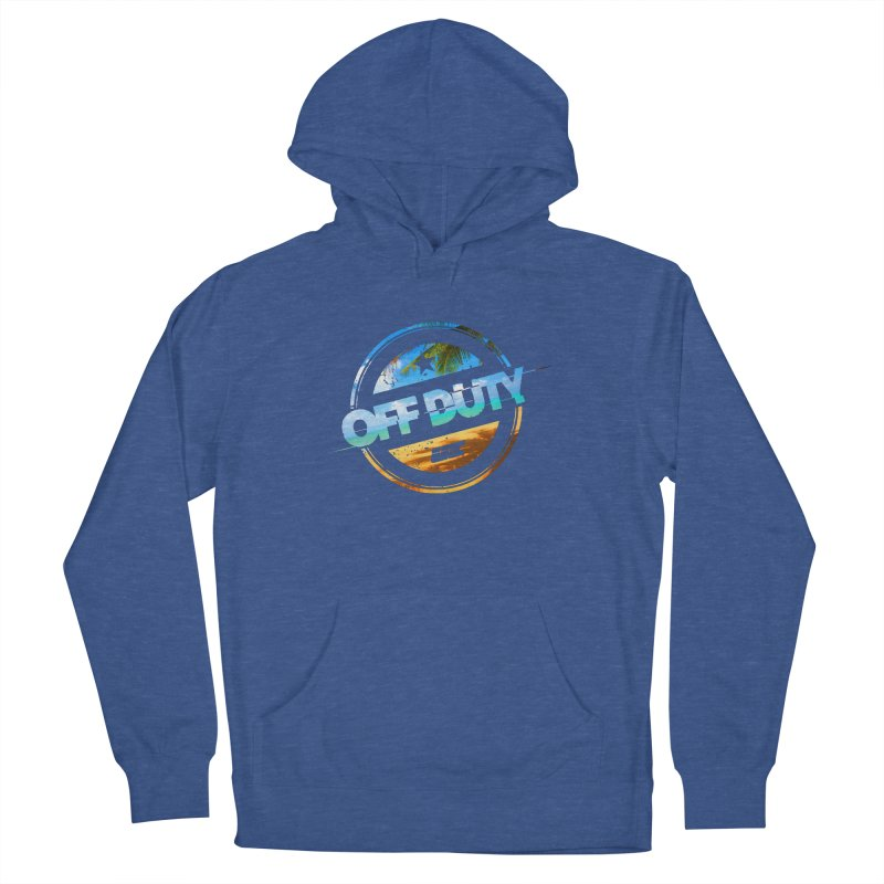Off Duty - Beach Edition Women's Pullover Hoody by uniquego's Artist Shop