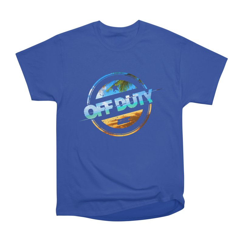 Off Duty - Beach Edition Women's Heavyweight Unisex T-Shirt by uniquego's Artist Shop