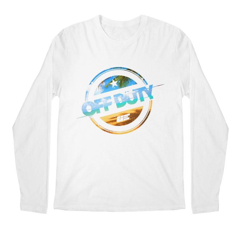 Off Duty - Beach Edition Men's Regular Longsleeve T-Shirt by uniquego's Artist Shop