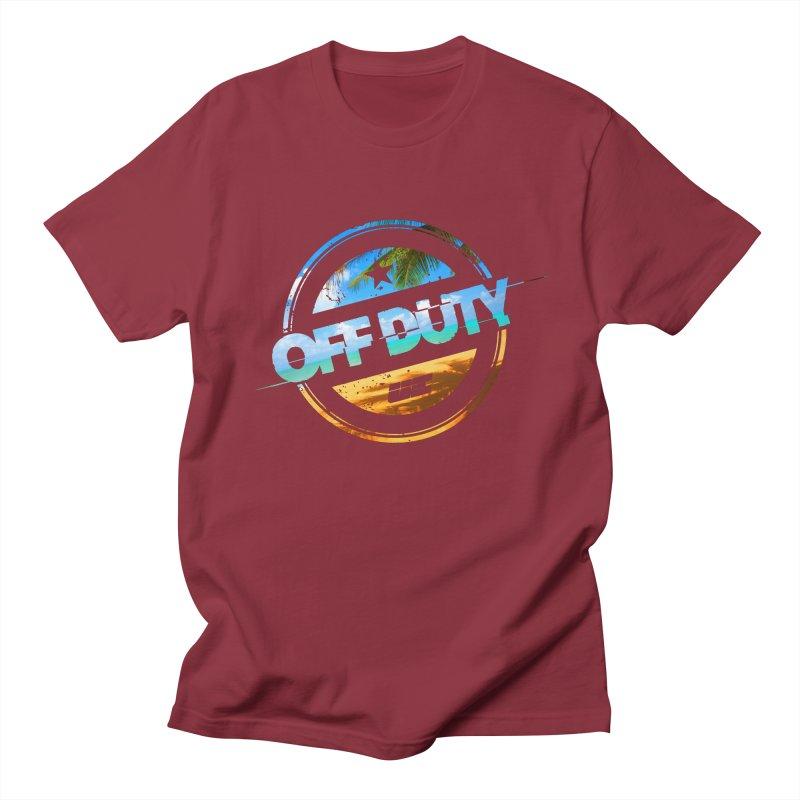 Off Duty - Beach Edition Women's Regular Unisex T-Shirt by uniquego's Artist Shop
