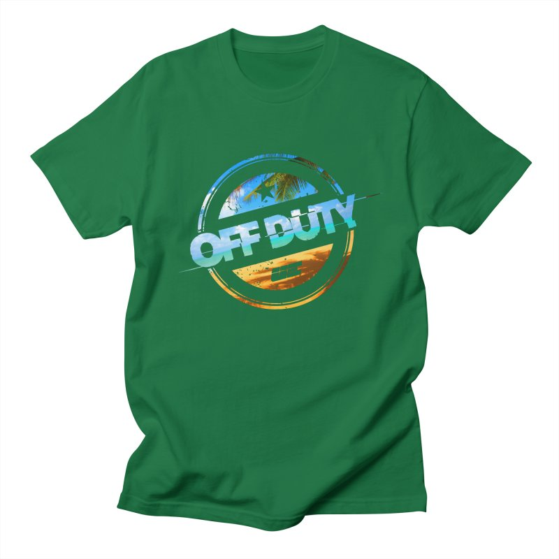 Off Duty - Beach Edition Women's Regular Unisex T-Shirt by uniquego's Artist Shop