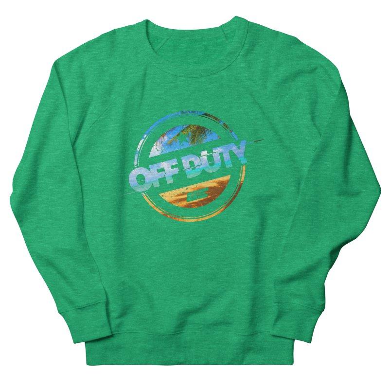 Off Duty - Beach Edition Men's Sweatshirt by uniquego's Artist Shop