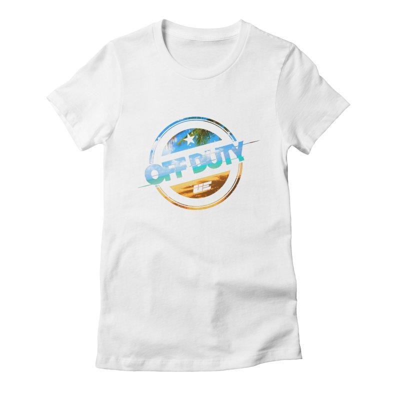 Off Duty - Beach Edition Women's T-Shirt by uniquego's Artist Shop
