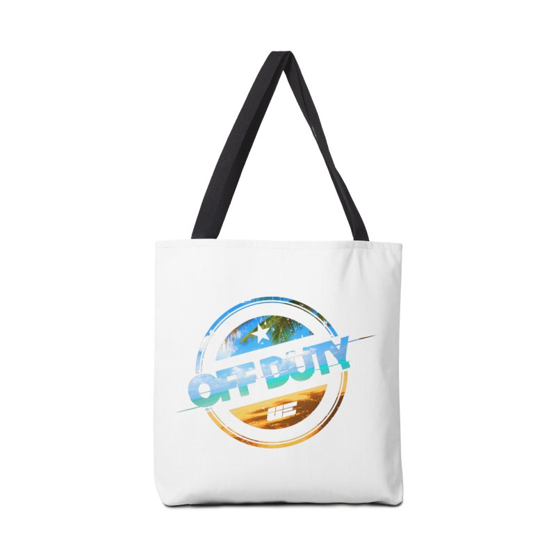 Off Duty - Beach Edition Accessories Bag by uniquego's Artist Shop