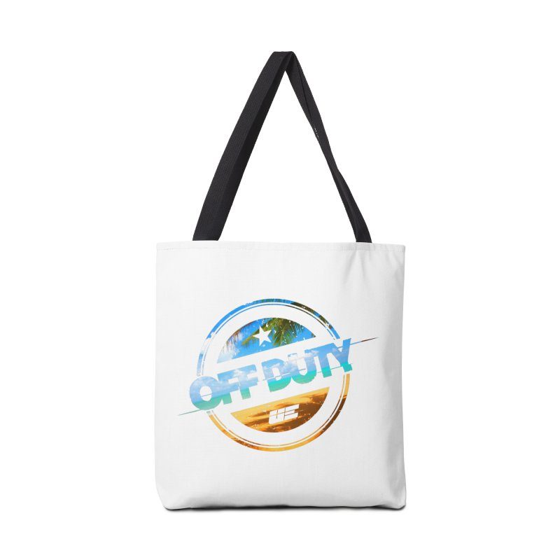 Off Duty - Beach Edition Accessories Bag by uniquego's Artist Shop