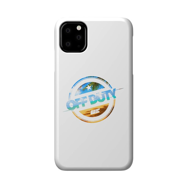 Off Duty - Beach Edition Accessories Phone Case by uniquego's Artist Shop