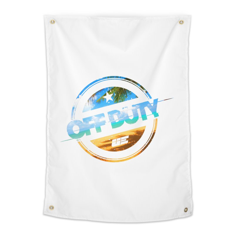 Off Duty - Beach Edition Home Tapestry by uniquego's Artist Shop