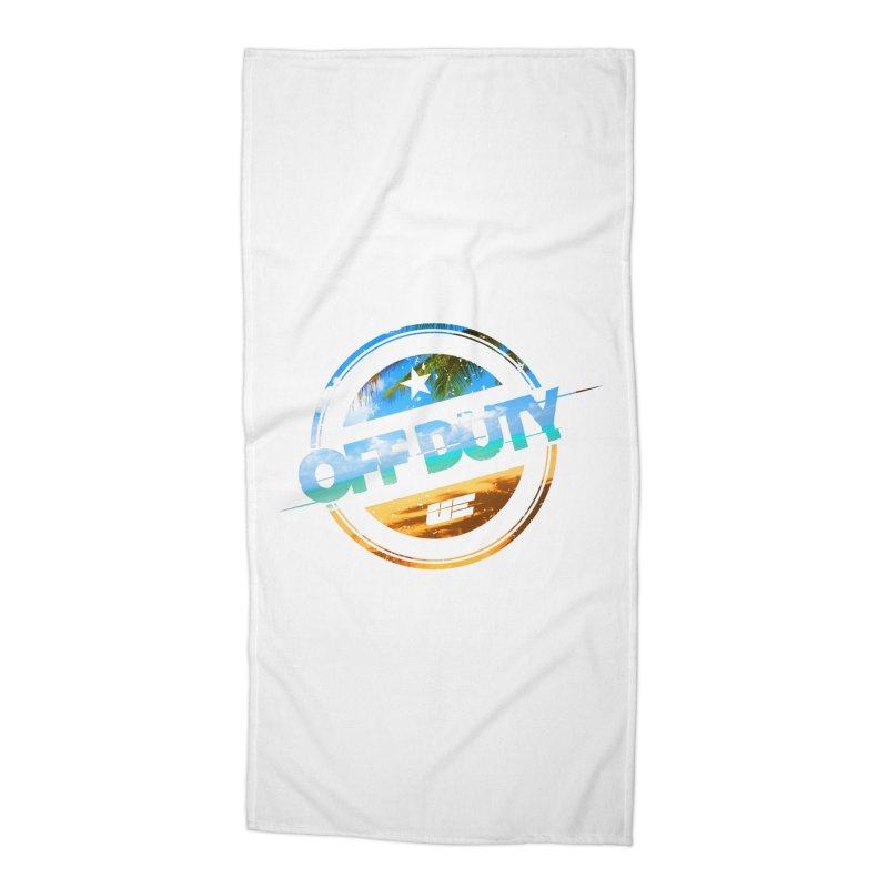 Off Duty - Beach Edition Accessories Beach Towel by uniquego's Artist Shop