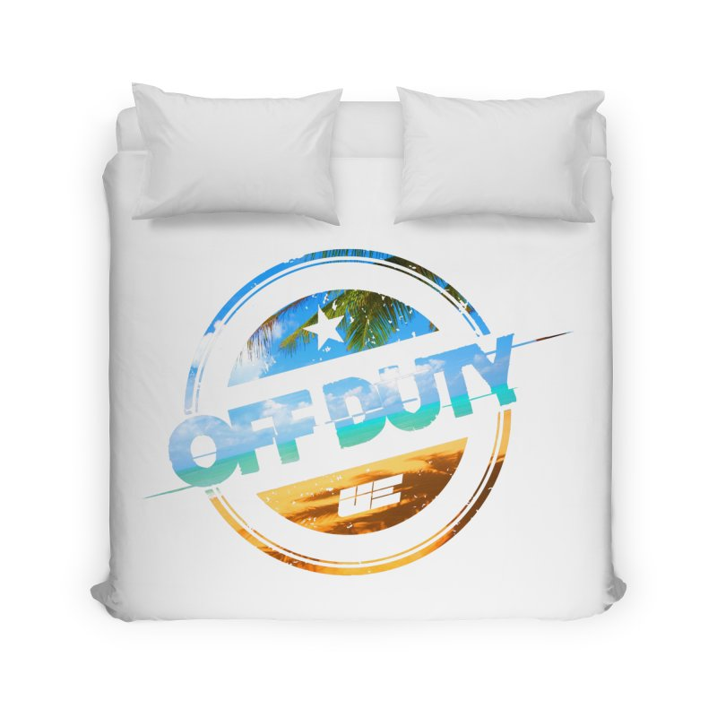 Off Duty - Beach Edition Home Duvet by uniquego's Artist Shop