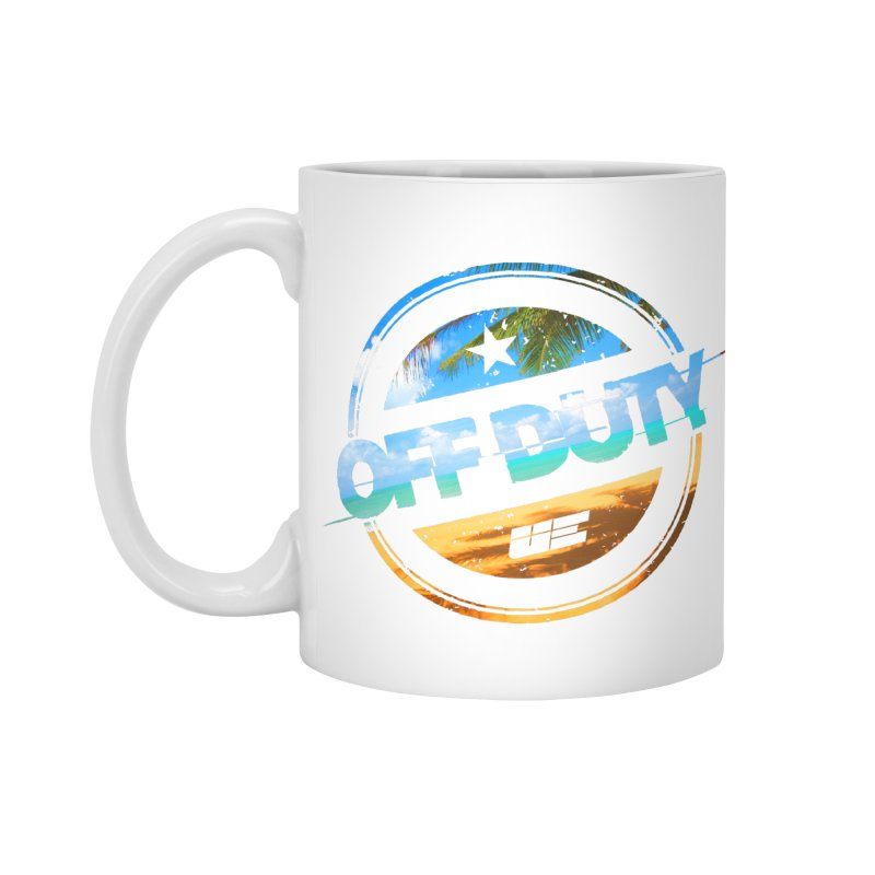 Off Duty - Beach Edition Accessories Standard Mug by uniquego's Artist Shop