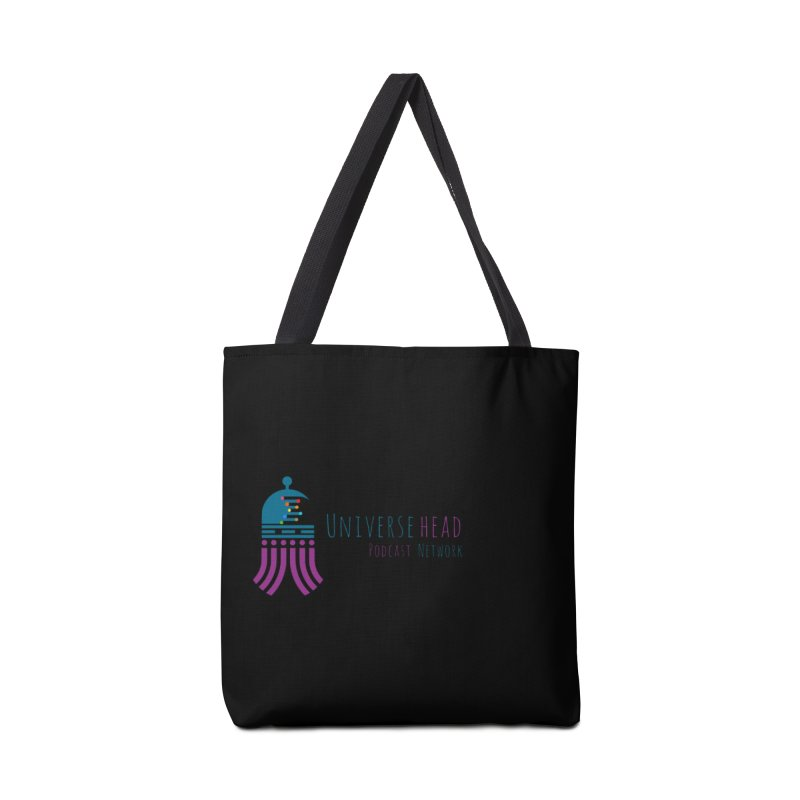 universeSquid w/text Accessories Bag by Universehead Podcast Network Store